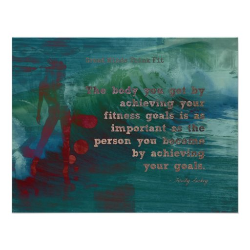 Fitness Goals for Confidence! Print