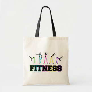 Fitness in Word and Deed Canvas Bags