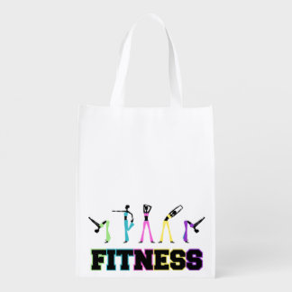 Fitness in Word and Deed Reusable Grocery Bag