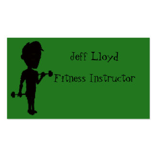 Fitness Instructor Pack Of Standard Business Cards