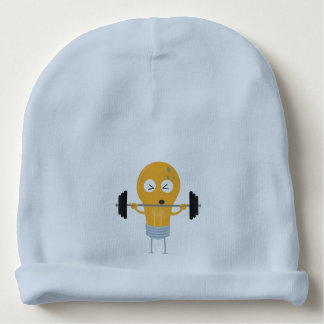 Fitness light bulb with weight baby beanie