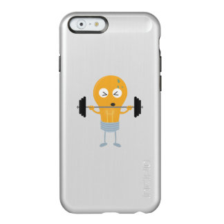 Fitness light bulb with weight incipio feather® shine iPhone 6 case
