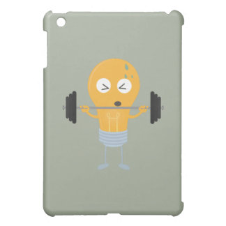 Fitness light bulb with weight iPad mini cases