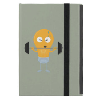 Fitness light bulb with weight iPad mini covers