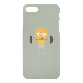 Fitness light bulb with weight iPhone 8/7 case