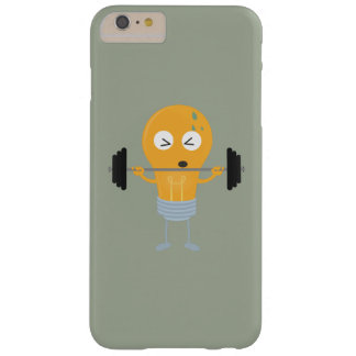 Fitness light bulb with weight Z1zu3 Barely There iPhone 6 Plus Case