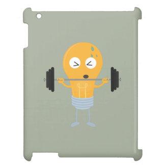 Fitness light bulb with weight Z1zu3 iPad Case