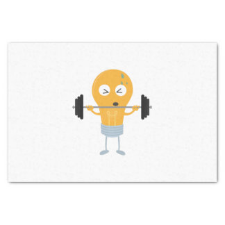 Fitness light bulb with weight Z1zu3 Tissue Paper