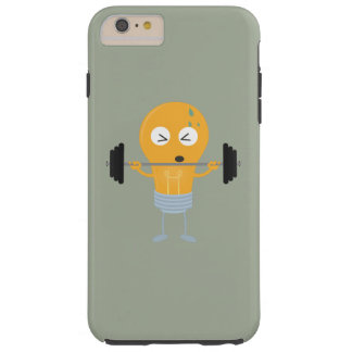 Fitness light bulb with weight Z1zu3 Tough iPhone 6 Plus Case