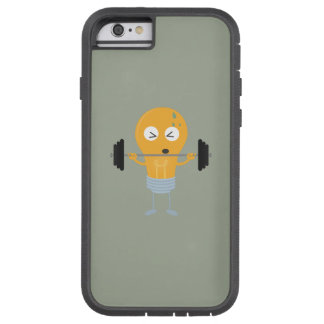 Fitness light bulb with weight Z1zu3 Tough Xtreme iPhone 6 Case