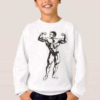 Fitness Man Muscles Sweatshirt