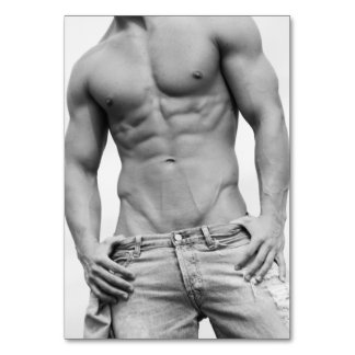 Fitness Model Table Cards