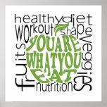 Fitness motivational poster