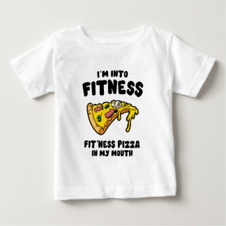 Fitness Pizza Baby T-Shirt