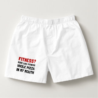 Fitness Pizza Boxers
