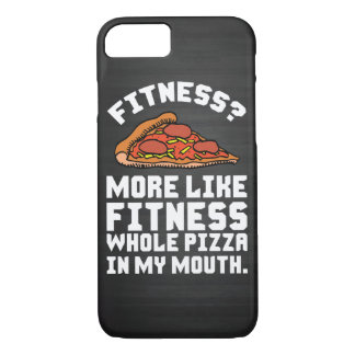 Fitness Pizza iPhone 7 Case