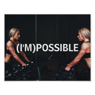 fitness study motivation inspiration gym poster