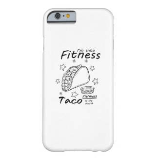 Fitness Taco  Funny Workout Gym Barely There iPhone 6 Case