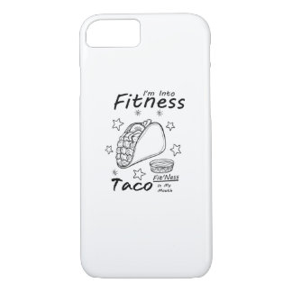 Fitness Taco  Funny Workout Gym iPhone 8/7 Case