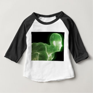 Fitness Technology Science Lifestyle as a Concept Baby T-Shirt