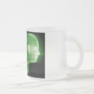 Fitness Technology Science Lifestyle as a Concept Frosted Glass Coffee Mug