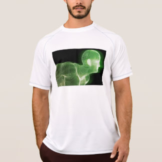 Fitness Technology Science Lifestyle as a Concept T-Shirt
