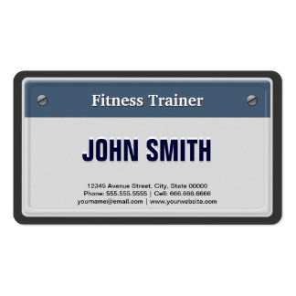 Personal trainer business license washington state