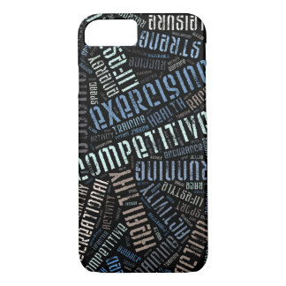 Fitness words iPhone 8/7 case