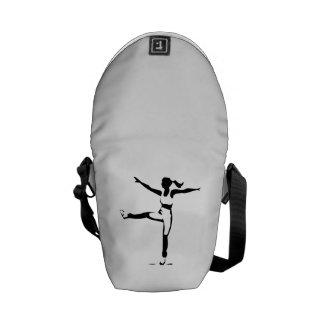 Fitness Workout Messenger Bag