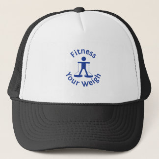 Fitness Your Weigh Trucker Hat