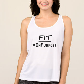 #FitOnPurpose Tank (Raceback)