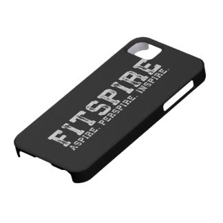 Fitspire - Aspire, Perspire,  Inspire - Workout iPhone 5 Covers