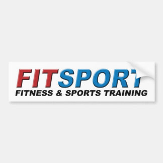 Fitsport Fitness & Sports Training Bumper Sticker