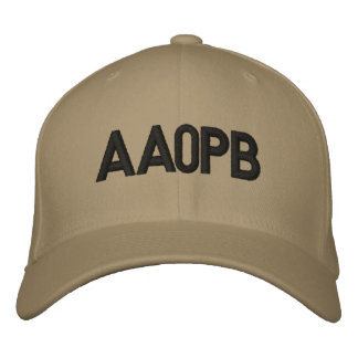 Fitted Hat with Call Sign Embroidered Baseball Caps