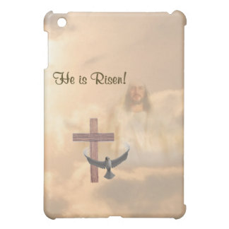 ® Fitted™ He Is Risen Hard Shell  iPad Mini Cover