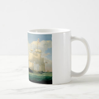 "Fitz Henry Lane - The Ships ""Winged Arrow"" Coffee Mug"