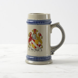 Fitz-Nicol Coat of Arms Stein - Family Crest