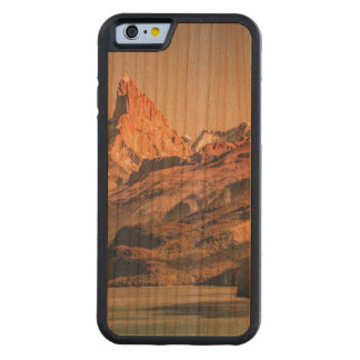 Fitz Roy and Poincenot Andes Mountains - Patagonia Carved Cherry iPhone 6 Bumper Case