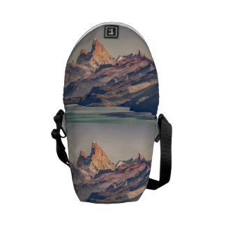 Fitz Roy and Poincenot Andes Mountains - Patagonia Commuter Bag