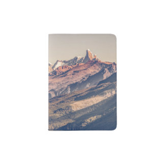Fitz Roy and Poincenot Andes Mountains - Patagonia Passport Holder