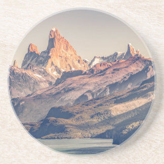 Fitz Roy and Poincenot Mountains Patagonia Coaster