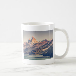 Fitz Roy and Poincenot Mountains Patagonia Coffee Mug
