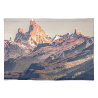 Fitz Roy and Poincenot Mountains Patagonia Placemat