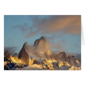 Fitz Roy. Patagonia. Argentina. Card