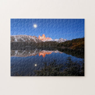 Fitz Roy'S Reflection Jigsaw Puzzle