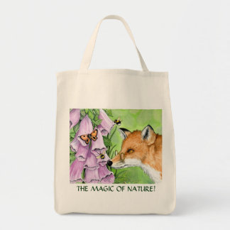 Fitzgerald Fox grocery tote