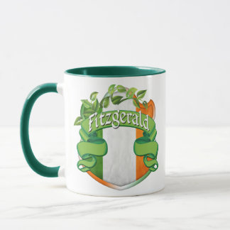 Fitzgerald Irish Shield Mug