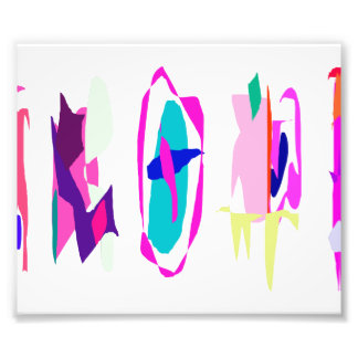 Five Abstracts Photographic Print