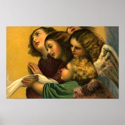 Five Angels Print
