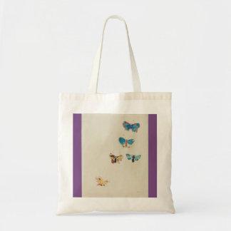 Five Butterflies Tote Bag